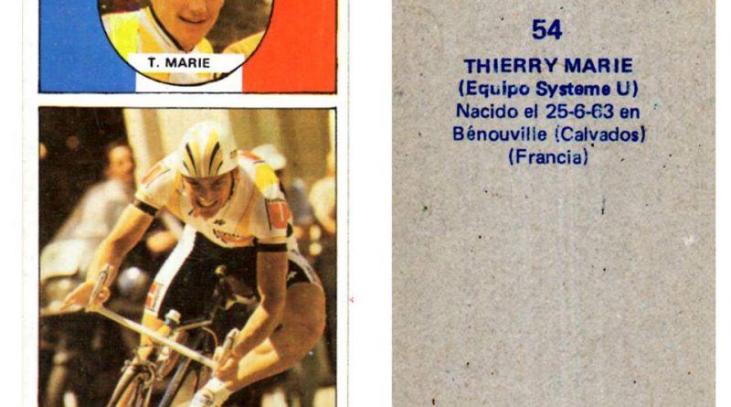 Vuelta ciclista, Ases del pedal. Thierry Marie (Systeme U). Editorial Merchante. 📸: Antonio Sevillano Gil.
