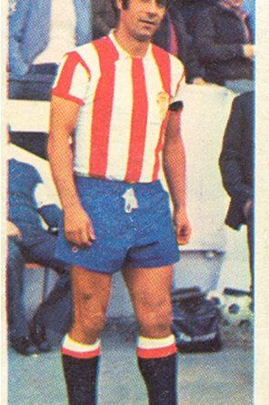 Liga 75-76. De Diego (Real Sporting de Gijón). Ediciones Este. 📸: Toni Izaro.