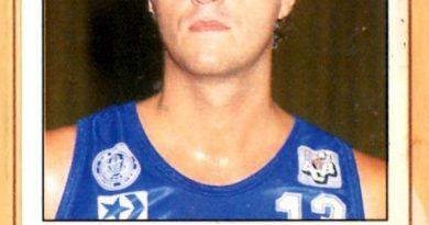 Basket 90 ACB. Juan Carlos Barros (BBV Collado Villalba). Ediciones Panini. 📸: Grupo de Facebook Nuestros álbumes de cromos.