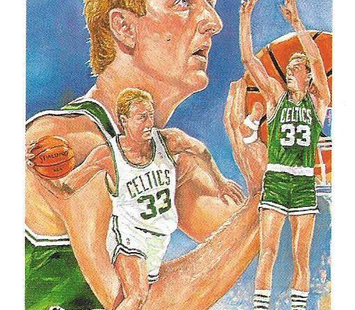 Cromos 1989 - 1990. Larry Bird (Boston Celtics). NBA Hoops. 📸: Emilio Rodriguez Bravo.