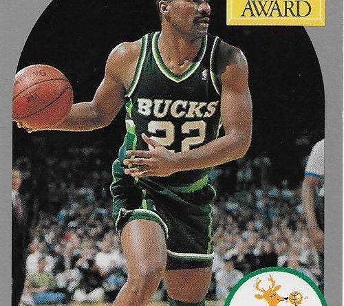 Cromos 1989 - 1990. Ricky Pierce (Milwaukee Bucks). NBA Hoops. 📸: Emilio Rodriguez Bravo.