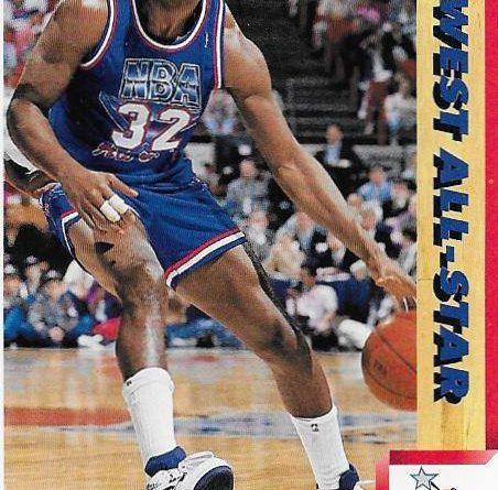 Cromos NBA 1991 - 1992. Magic Johnson (All-Star West). Upper Deck. Upper Deck. 📸: Emilio Rodriguez Bravo.