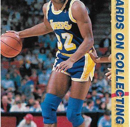Cromos NBA 1991-1992. Magic Johnson (Los Angeles Lakers). Upper Deck. 📸: Emilio Rodriguez Bravo.