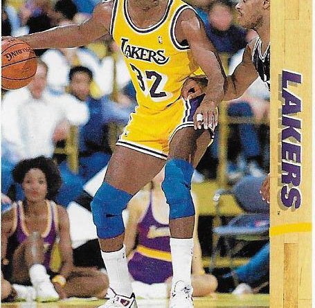 Cromos NBA 1991 - 1992. Magic Johnson (Los Angeles Lakers). Upper Deck. 📸: Emilio Rodriguez Bravo.