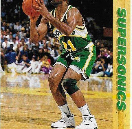 Cromos NBA 1991 - 1992. Ricky Pierce (Seattle Supersonics). Upper Deck. 📸: Emilio Rodriguez Bravo.