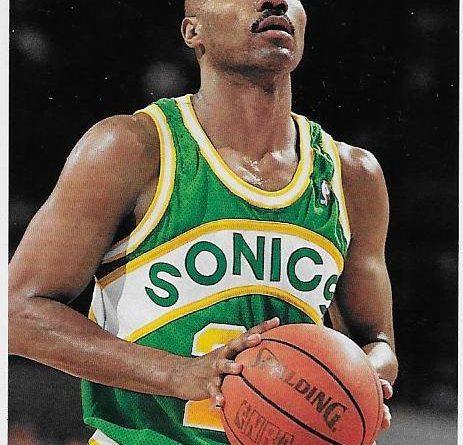 Cromos NBA 1992 - 1993. Ricky Pierce (Seattle Supersonics). Upper Deck. 📸: Emilio Rodriguez Bravo.