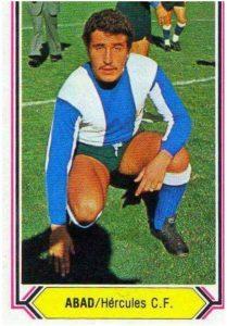 Liga 80-81. Abad (Hércules C.F.). Ediciones Este. 📸: Jon G Durbán.
