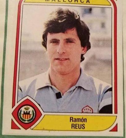 Liga 83-84. Reus (Real Mallorca). Ediciones Panini. 📸: MtLale Susowwsl ALale.