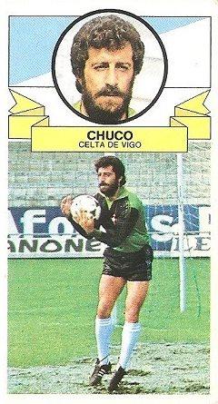 Liga 85-86. Chuco (Real Club Celta de Vigo). Ediciones Este.