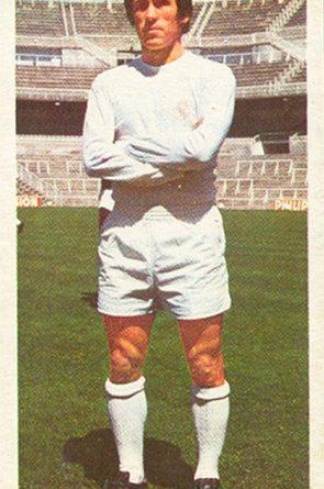 Liga 75-76. Amancio (Real Madrid). Ediciones Este. 📸: Toni Izaro.