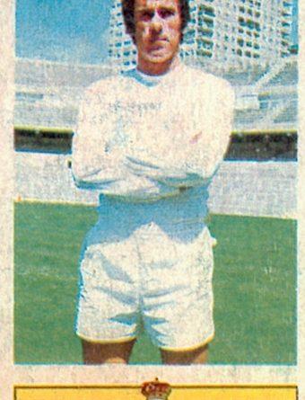 Liga 73-74. Amancio (Real Madrid). Ediciones Este. 📸: Toni Izaro.
