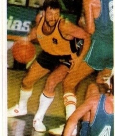 Basket 87. Germán González (Cajacanarias). Editorial J. Merchante – Bollycao. 📸: Sergio Jiménez.