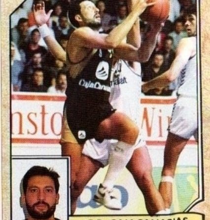 Baloncesto 1988-89. Germán González (Cajacanarias). Converse. 📸: Sergio Jiménez.