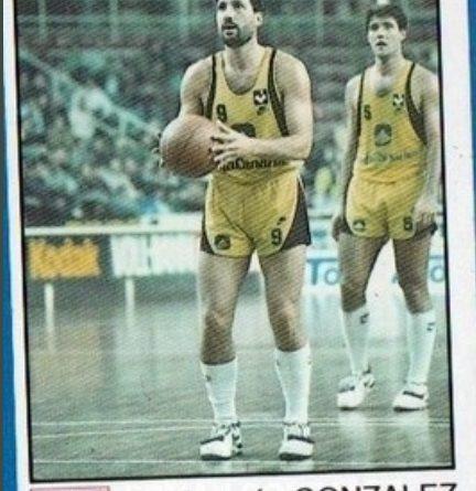 Basket 91 ACB. Germán González (Cajacanarias). Ediciones Panini. 📸: Sergio Jiménez.