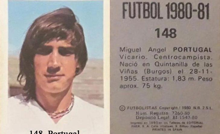 Fútbol 1980-81. Portugal (Real Madrid). Editorial Fher. 📸: Grupo de Facebook Nuestros álbumes de cromos.