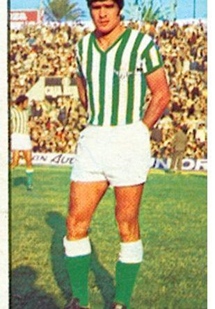 Liga 77-78. Biosca (Real Betis). Ediciones Este. 📸: Toni Izaro.