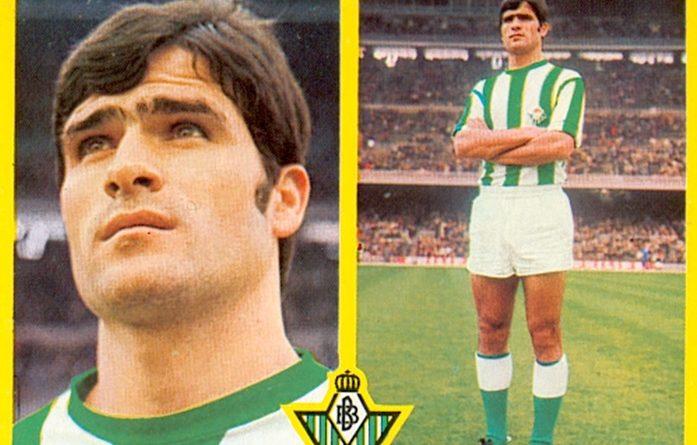 Liga 72-73. Biosca (Real Betis). Ediciones Este. 📸: Toni Izaro.