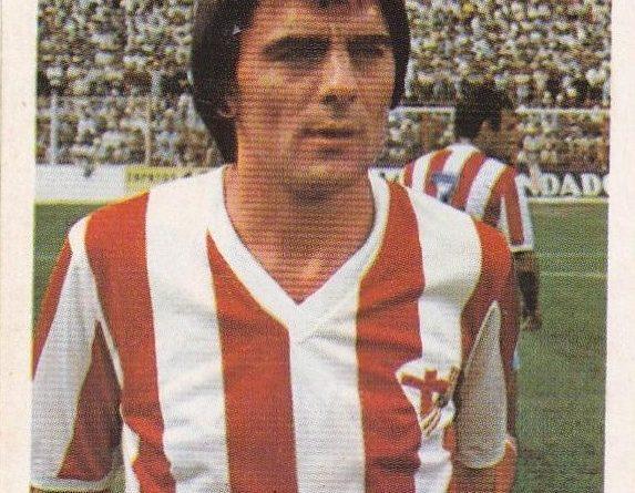 Liga 80-81. Arias (A.D. Almería). Editorial Cromo Crom. 📸: Jaime De la Cruz González.