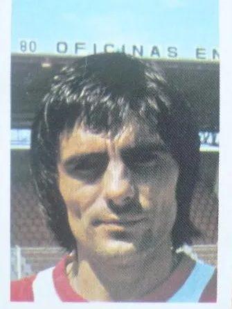 Fútbol 80-81. Arias (A.D. Almería). Editorial Fher. 📸: Jaime De la Cruz González.