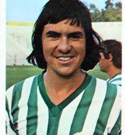 Liga 80-81. Hugo Cabezas (Real Betis). Editorial Cromo Crom. 📸: Jaime De la Cruz González.