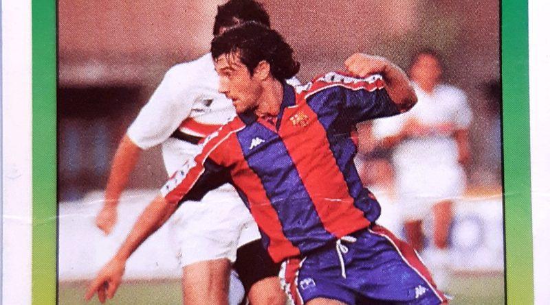Liga 93-94. Bakero (F.C. Barcelona). Ediciones Este.