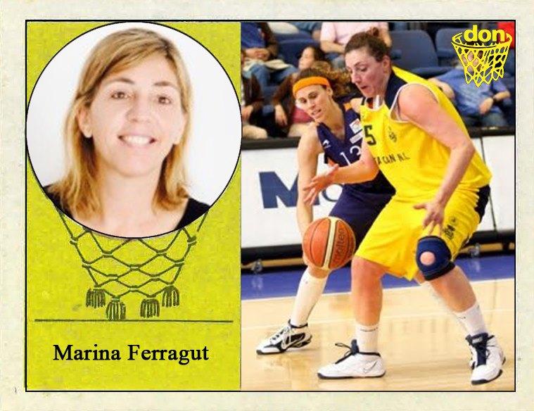 Marina Ferragut (Real Canoe). 📸: Cromo-Montaje del Grupo de Facebook Nuestros álbumes de cromos.