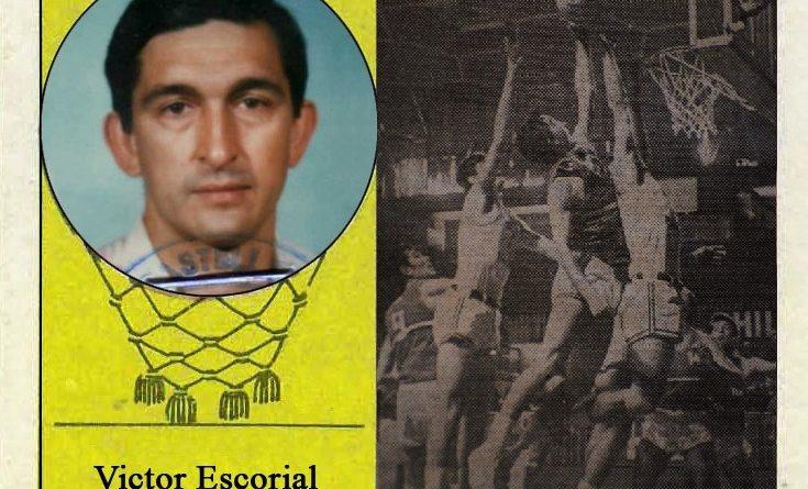 Víctor Escorial (Vallehermoso). 📸: Cromo-Montaje del Grupo de Facebook Nuestros álbumes de cromos.