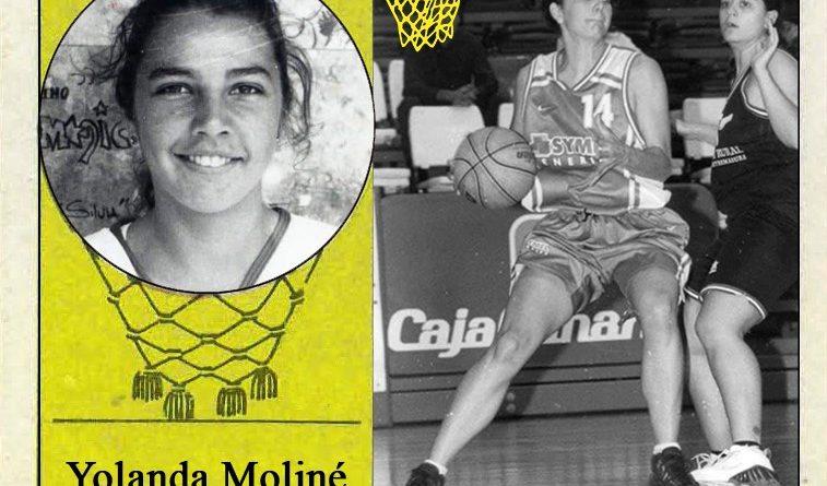 Yolanda Moliné (Symel Tenerife). 📸: Cromo-Montaje del Grupo de Facebook Nuestros álbumes de cromos.