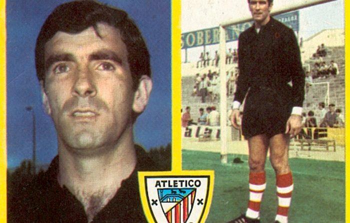 Liga 72-73. Iribar (Athletic Club de Bilbao). Ediciones Este. 📸: Toni Izaro.