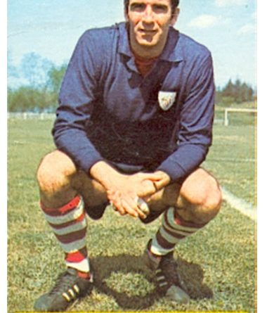 Liga 74-75. Iribar (Athletic Club de Bilbao). Ediciones Este. 📸: Toni Izaro.