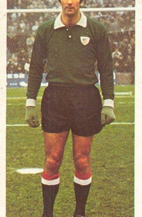 Liga 75-76. Iribar (Athletic Club de Bilbao). Ediciones Este. 📸: Toni Izaro.