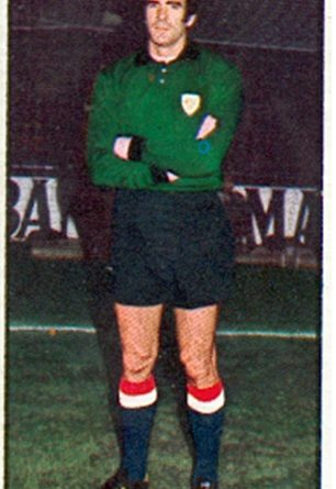 Liga 77-78. Iribar (Athletic Club de Bilbao). Ediciones Este. 📸: Toni Izaro.