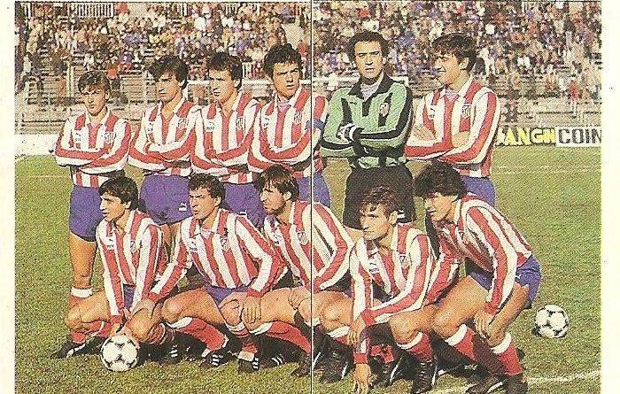 Trideporte-84.-Alineación-Atlético-Madrileño-Atlético-Madrileño.-Editorial-Fher.