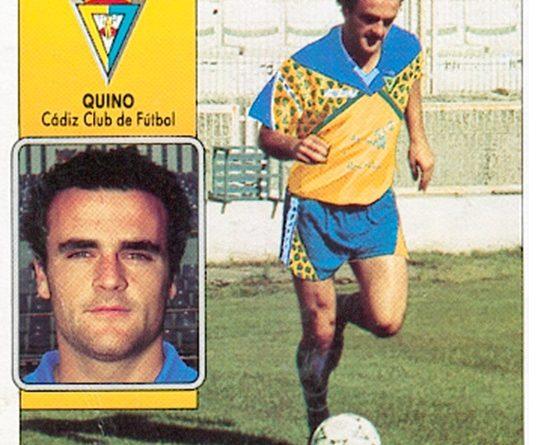 Liga 92-93. Quino (Cádiz F.C.). Ediciones Este. 📸: Toni Izaro.