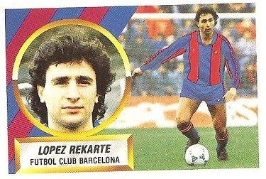 Liga 88-89. López Rekarte (F.C. Barcelona). Ediciones Este.