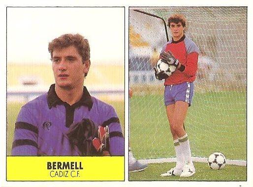 Liga 87-88. Bermell (Cádiz C.F.). Ediciones Festival.