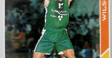 ACB 95. Nº 188. Wilson (C.B. Peñas Huesca). Editorial Mundicromo.