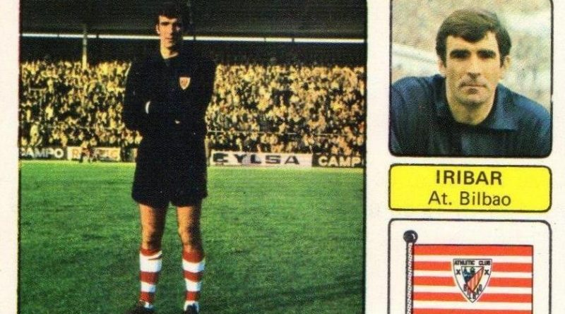 Liga 73-74. Iribar (Athletic Club). Editorial Fher. 📸: Juan Álvarez.