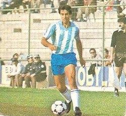 Liga 82-83. Nacho (C.D. Málaga). Ediciones Este.