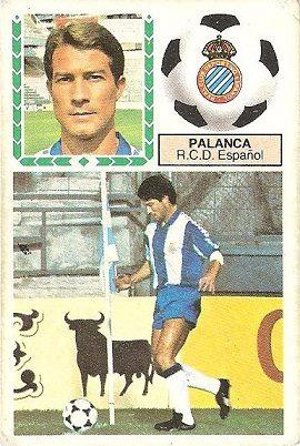 Liga 83-84. Palanca (R.C.D. Español). Ediciones Este.