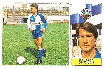 Liga 86-87. Palanca (C.E. Sabadell). Ediciones Este.