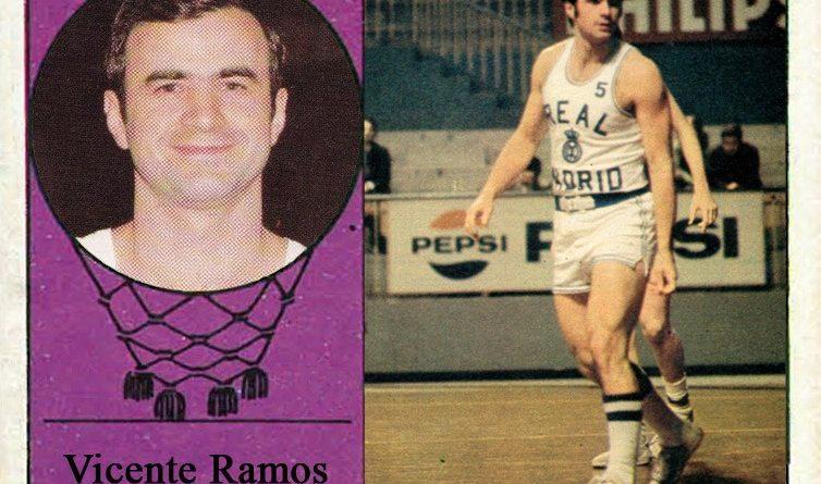 Vicente Ramos (Real Madrid). 📸: Cromo-Montaje del Grupo de Facebook Nuestros álbumes de cromos.