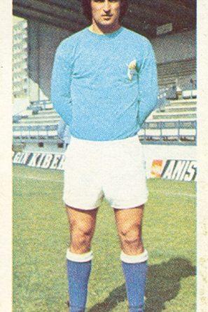 Liga 75-76. Galán (Real Oviedo). Ediciones Este. 📸: Toni Izaro.