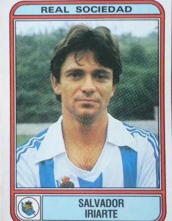 Fútbol 82. Iriarte (Real Sociedad). Editorial Panini. 📸: Luis Pérez.