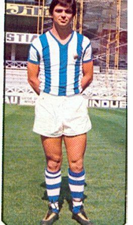 Liga 77-78. Iriarte (Real Sociedad). Ediciones Este. 📸: Toni Izaro.