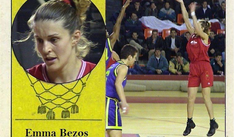 Emma Bezos (C.B. Ciudad de Burgos). 📸: Cromo-Montaje del Grupo de Facebook Nuestros álbumes de cromos.