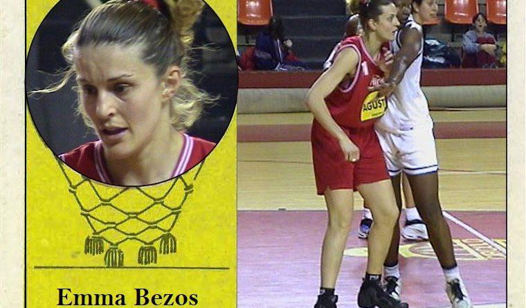 Emma Bezos (C.B. Ciudad de Burgos) 📸: Cromo-Montaje del Grupo de Facebook Nuestros álbumes de cromos.