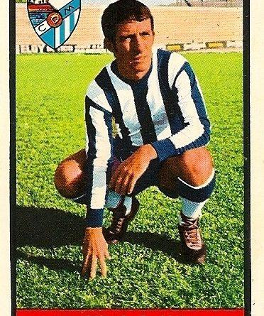 Campeonato de Liga 1972-73 Antonio Benitez (CD Málaga). Editorial Fher. 📸: Juan Álvarez.