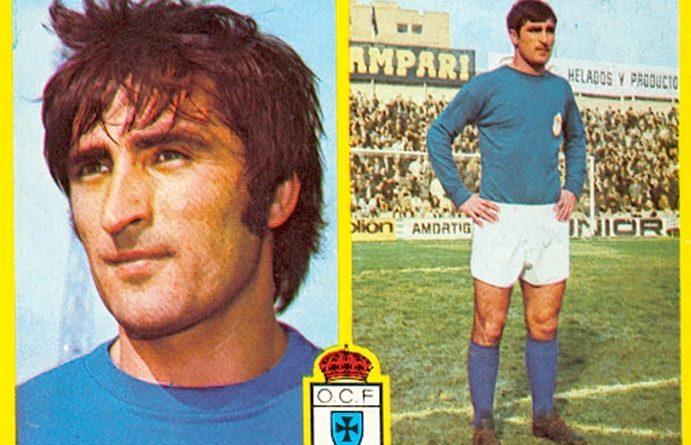 Liga 72-73. Galán (Real Oviedo). Ediciones Este. 📸: Toni Izaro.