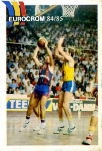 Liga 84-85. Ansa (F.C. Barcelona) Editorial Eurocrom. 📸: Grupo de Facebook Nuestros álbumes de cromos.